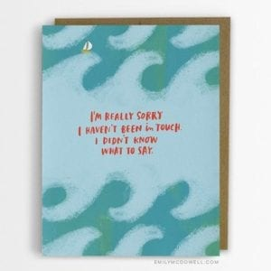 Cancer empathy card by Emily McDowell