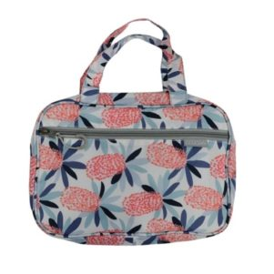 Cosmetic bag with compartments