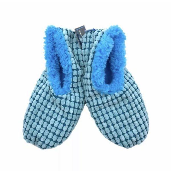Slumbies - chenille square blue