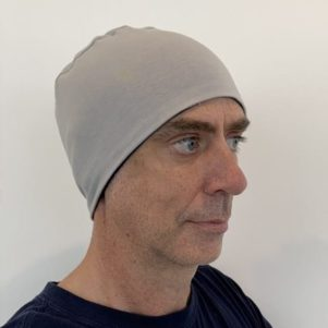 Men's head cuddle - grey/navy