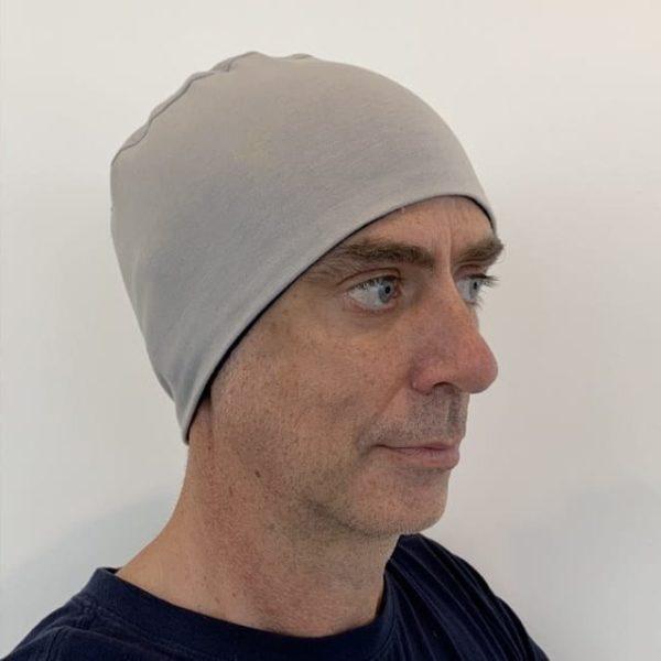 Men's head cuddle - grey/navy