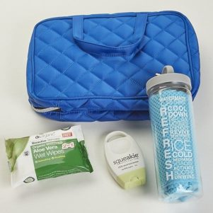 Stoma, travel or incontinence kit