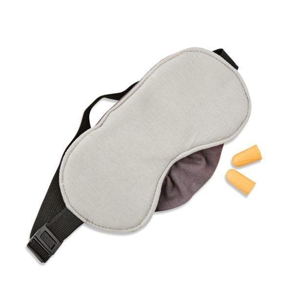 Ear plugs and simple eye mask