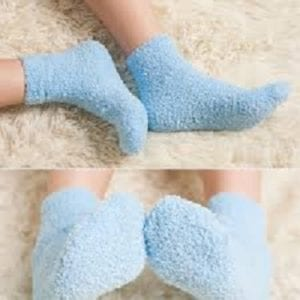 Cozy bed socks