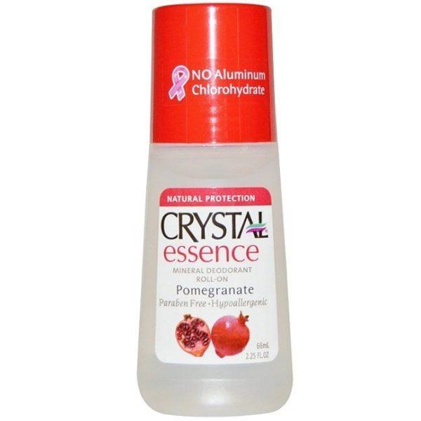 Crystal Mineral Deoderant - Pomegranate
