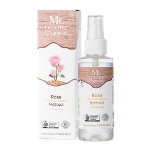 Certified Organic Rose Hydrosol Mist - Mt Retour