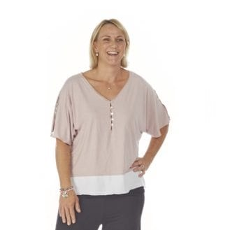 PJ top hospital, post-surgery, leisure wear