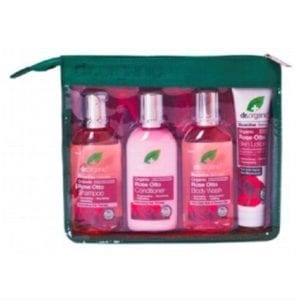 Dr Organic Rose Otto Hospital pack- organic