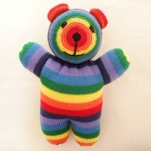 Rainbow sooky bear
