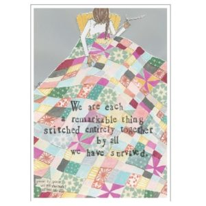 Stitched Together Card