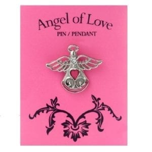 Angel of Love Pin & Pendant