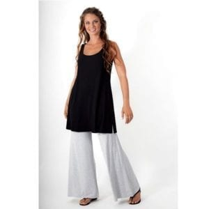Bamboo sleeveless tunic