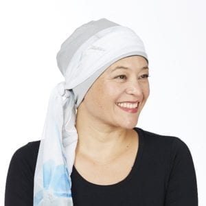 Cotton head cuddle - navy/silver grey