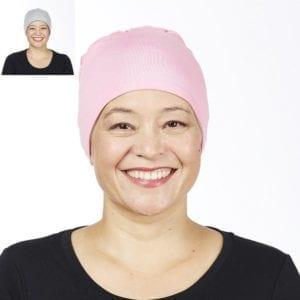 Cotton Head Cuddle - pink/silver grey