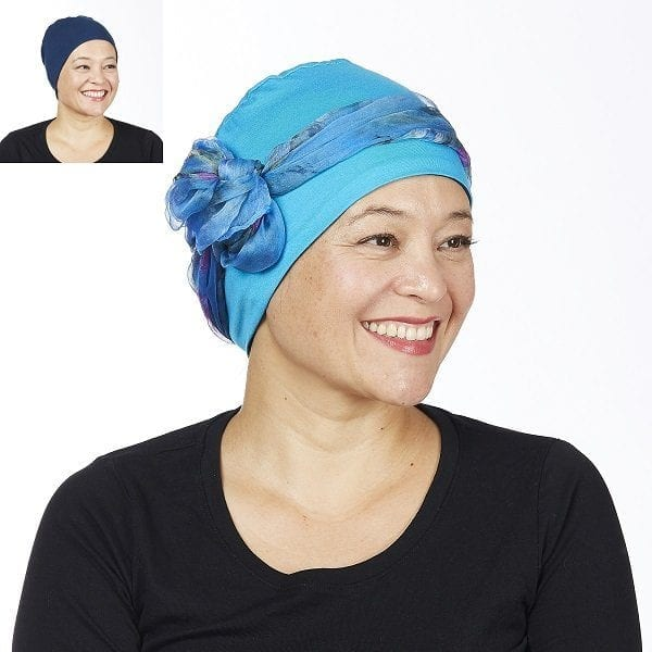 Cotton head cuddle - turquoise/neptunis