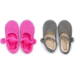 Cozy Mary Jane Slippers