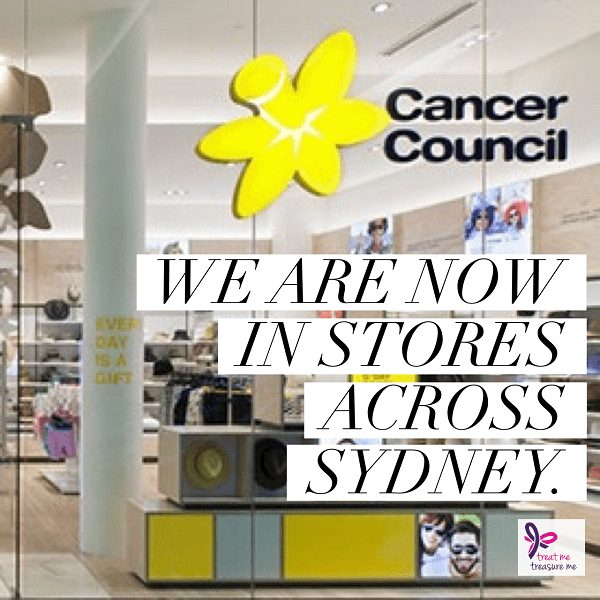 Our hats are now in Cancer Council Shops