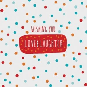 Love & Laughter - Fundraising Card