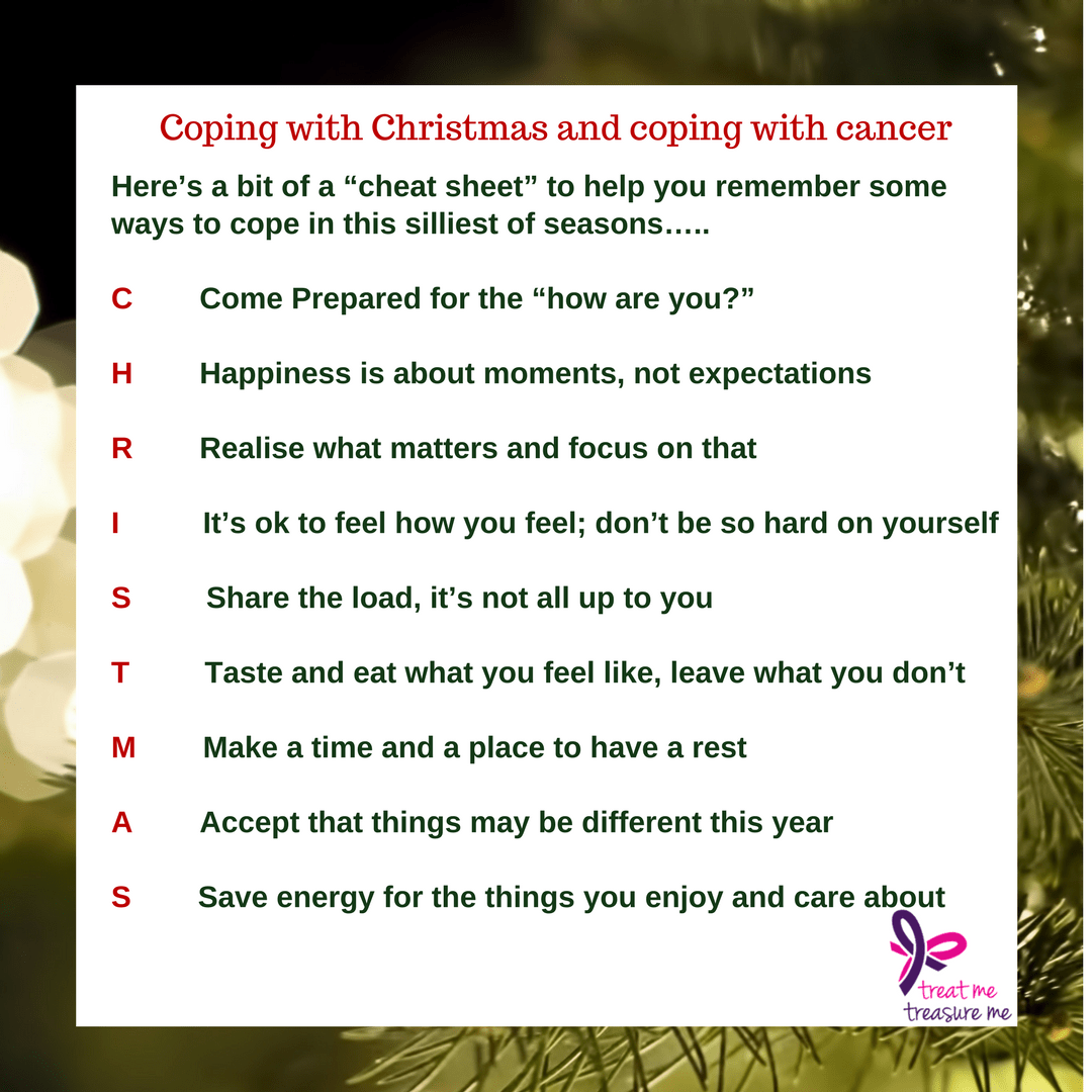 Coping with Christmas and coping with cancer